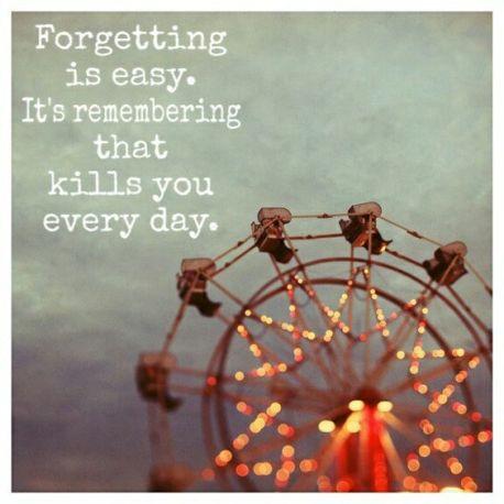 remembering kills you
