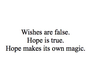 wishes and hope laini taylor