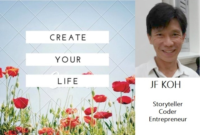 Create Your Life banner - JF