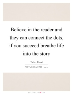 believe in the reader