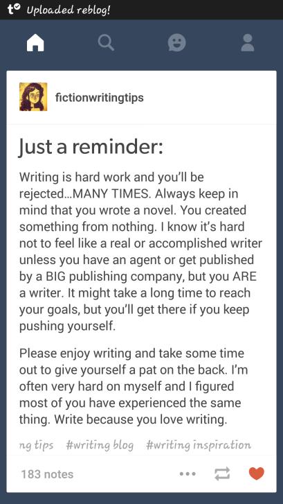 enjoy the writing