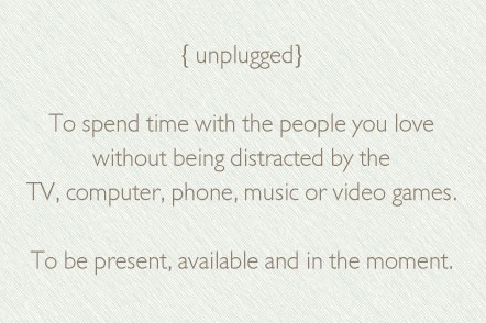 unplugged-definition-meaning